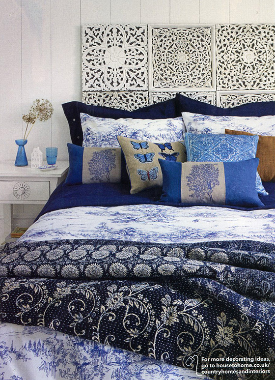 Blue from Country Homes & Interiors Magazine
