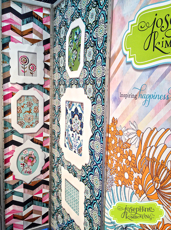 Josephine Kimberling's booth at Surtex 2014