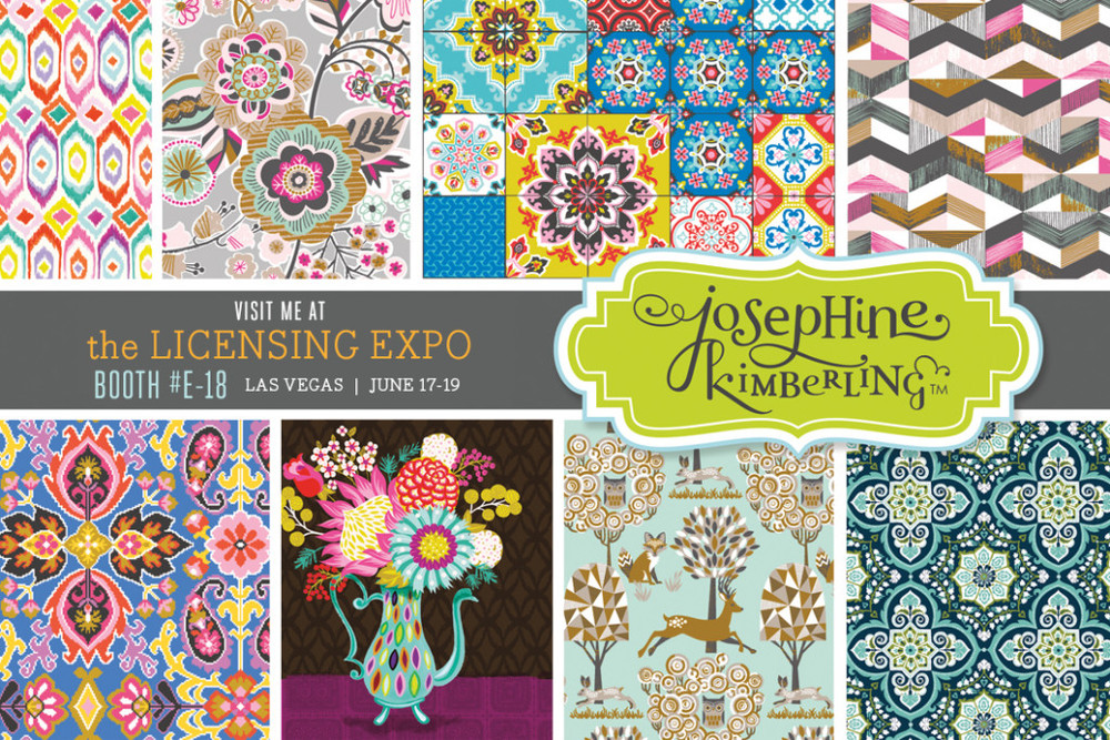 Visit Josephine Kimberling at the Licensing Expo 2014, Booth #E-18