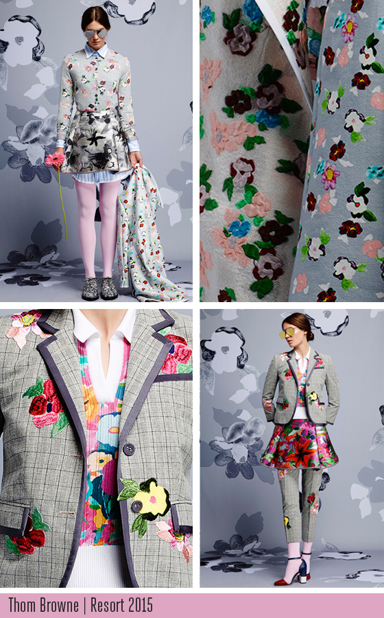 Thom Browne Resort 2015 collection wrapped up by Josephine Kimberling