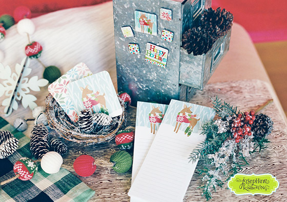 "Josephine Kimberling's ""Warm Wishes"" Magnets, Coasters & List Pads with Design Design!"