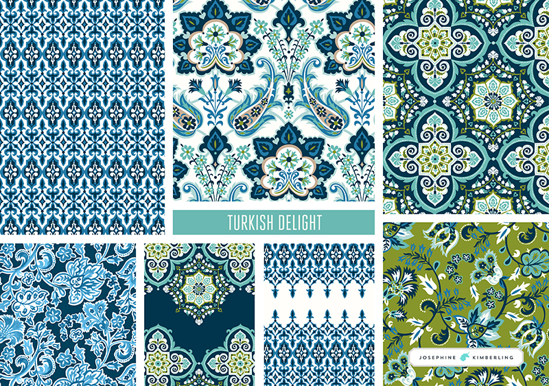 Turkish Delight Collection by Josephine Kimberling