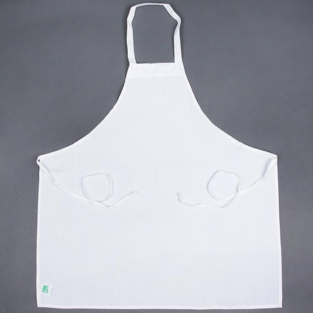 White apron mockup - White Poly Spun Aprons Napkins