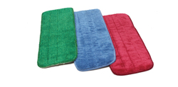 Call for a quote on microfiber flat wet mops for your JanSan needs. Prevent cross contamination with RGB color-matching with Monarch Brands floor lines.