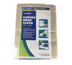 Drop Cloths - Our canvas drop cloths are made with full panels using heavy duck, drill, twill and/or similar canvas material.