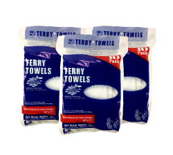 Shop Towel 10 Pack - These easy to handle bags offer attractive, point of sale packaging and are priced to give your customers the best possible value.