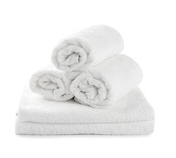Premium Collection   - Hospitality towels with  institutional packing to offer a soft towel that is bale packed for freight efficiency.