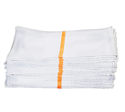 Route Ready Bar Mops   - Optically white and packed in bags of 25 so you never have to pre-wash or recount them prior to use.