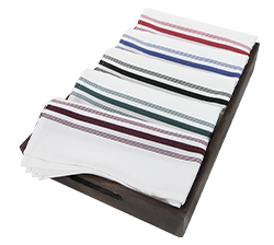 Poly Spun Bistro Napkins   - These oversized bistro napkins bring a touch of rustic class to every restaurant.