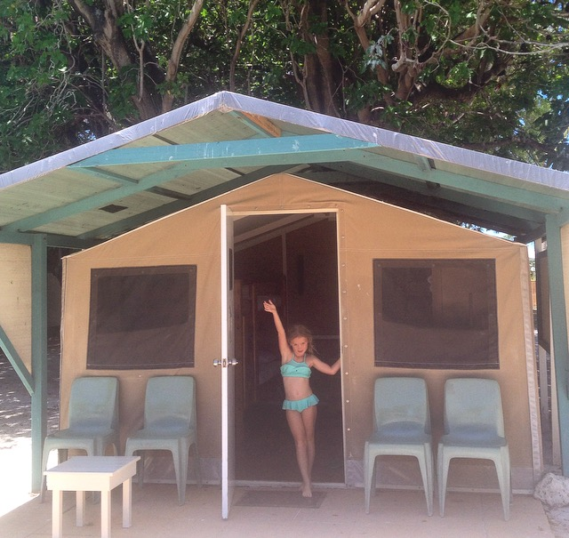 Our eco lodge!