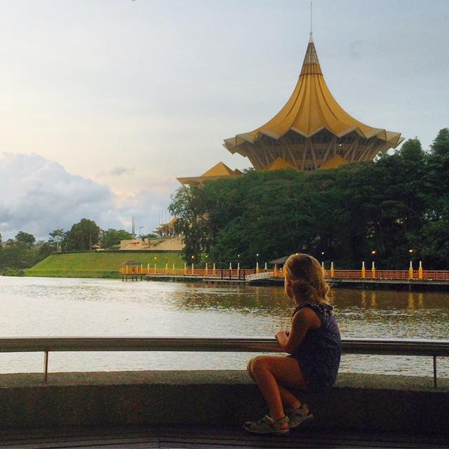 The beautiful Sarawak River