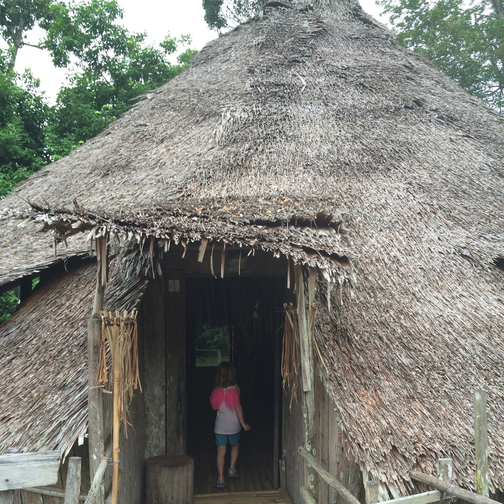 Great fun for kids in Borneo - Sarawak Cultural Village