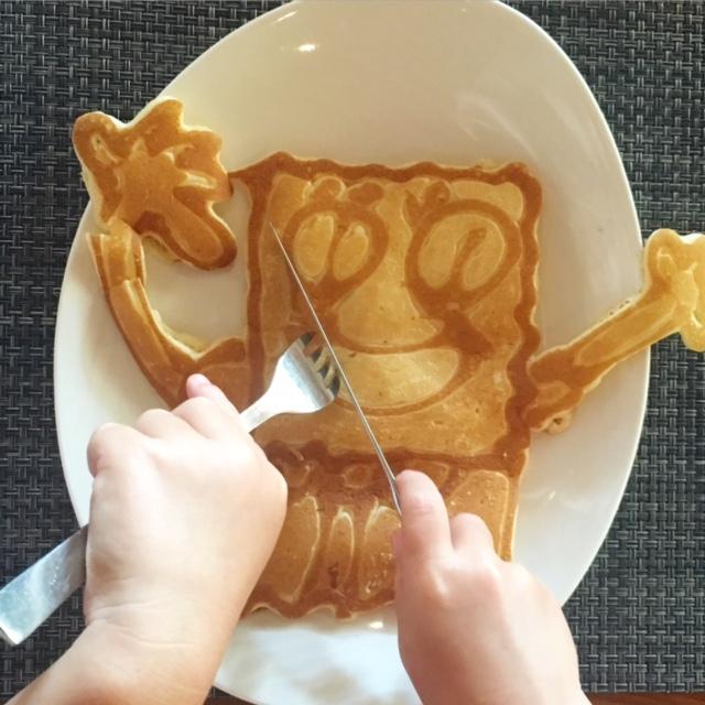 Shangri-La Mactan kids breakfast awesomeness!
