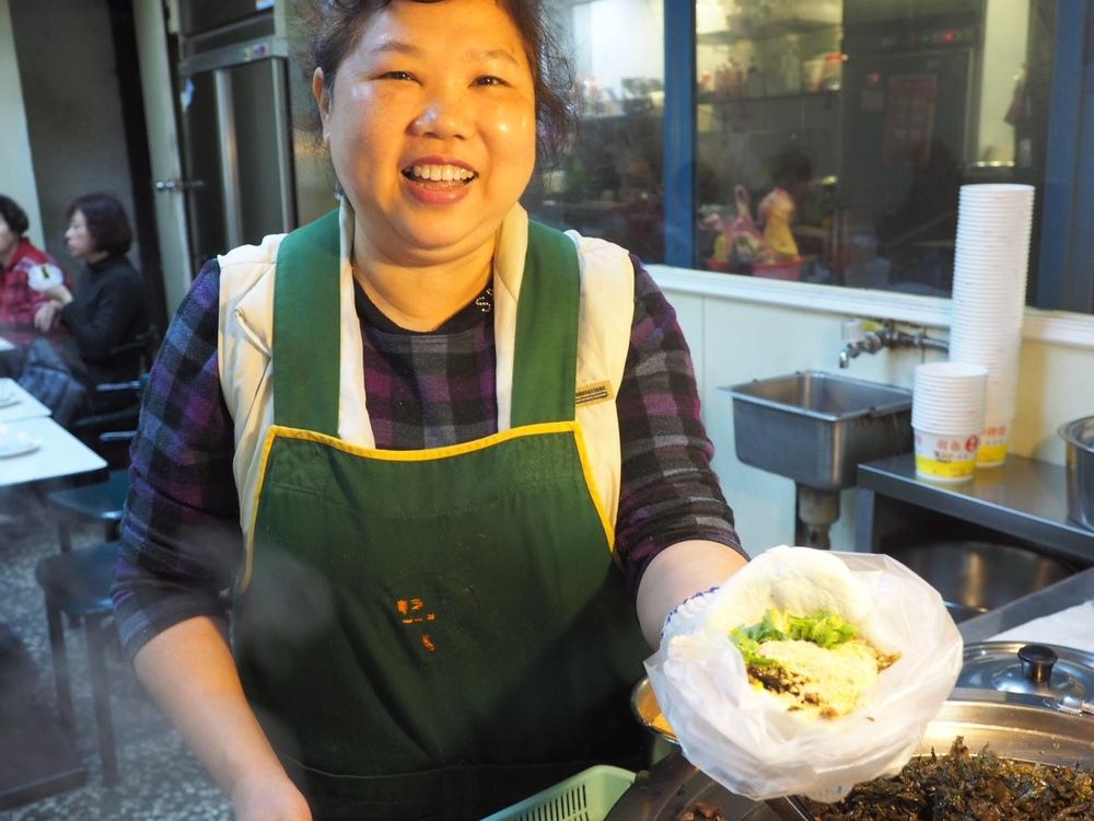 Taiwanese burger...omg yummmmm