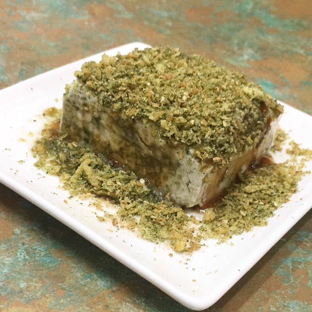 Appropriately named - stinky tofu!