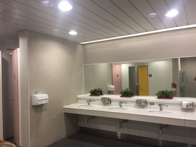 Seriously! These are the metro toilets!
