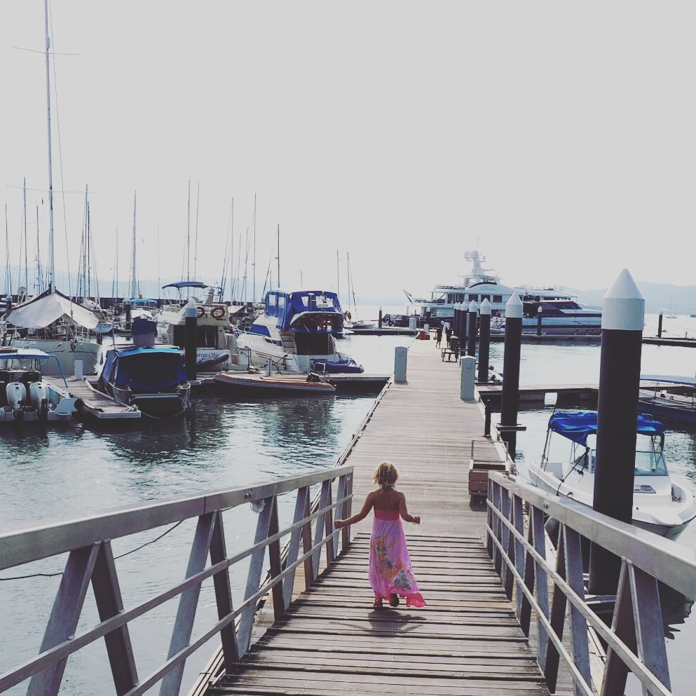 Langkawi with kids - sunset cruising and boarding at the Langkawi Royal Yacht Club