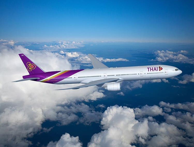 The Boeing 777-300AR, beautiful inside and out. PHOTO CREDIT: Thai Airways
