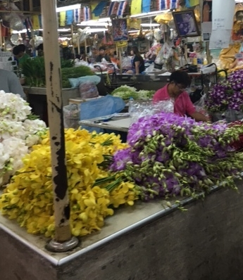 So much to see at the Bangkok flower markets