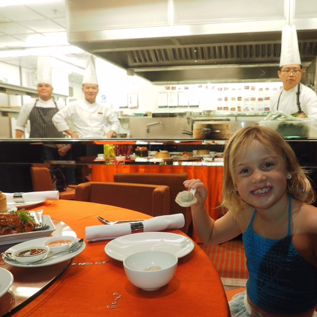 Make sure to eat at the Shangri-La's China Kitchen