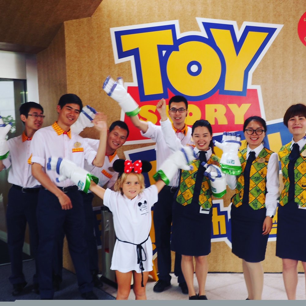Awesome welcome at Shanghai Disneyland's Toy Story Hotel