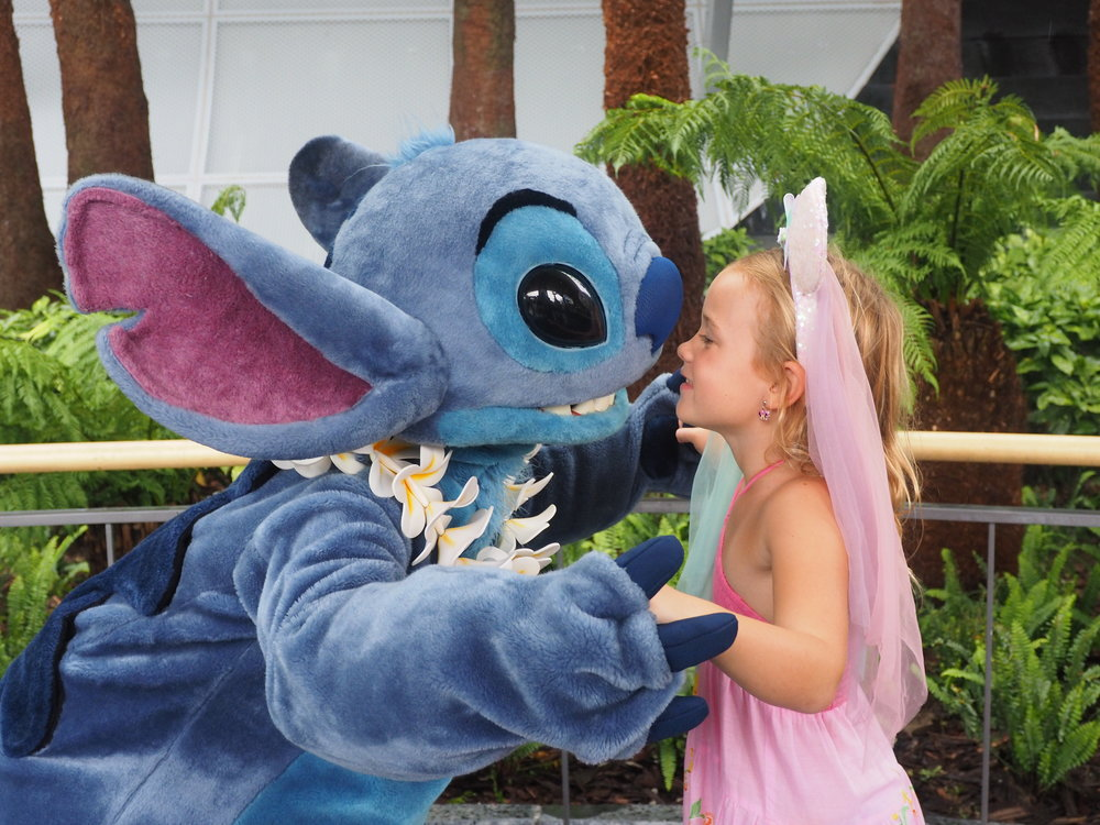 Our fave, the beautiful Stitch!