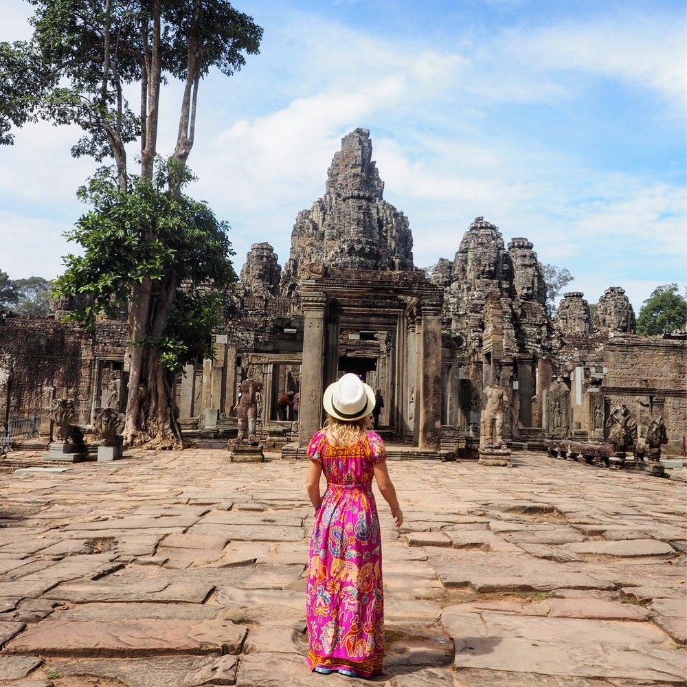 The amazingness of Angkor Thom