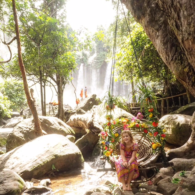 You have to visit the amazing Kulen Mountain, just outside of Siem Reap Cambodia