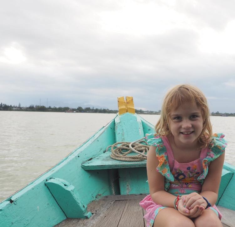 Hoi An river cruising