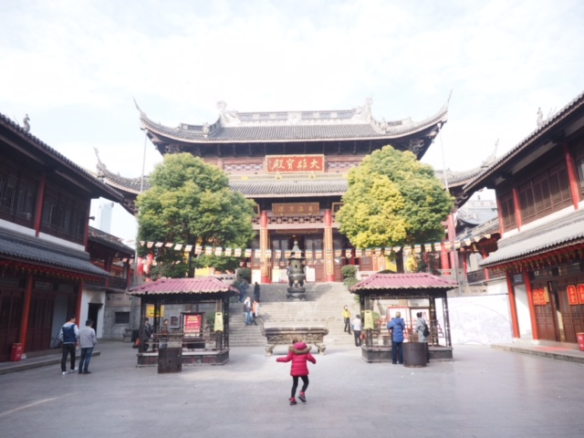 Beautiful Nanchang Temple in Wuxi, China