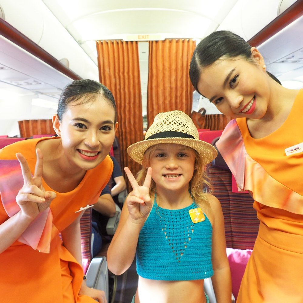 Thai Smile is an awesome little airline - cheapie cheap flights too