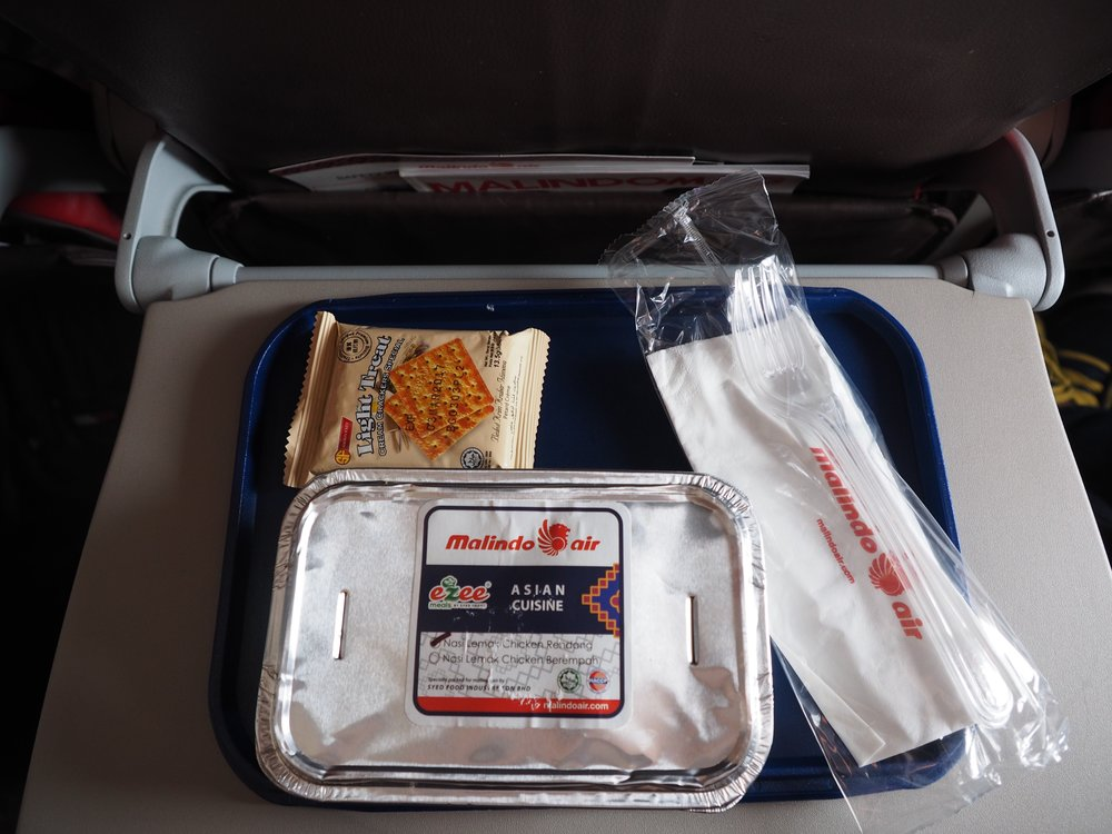 Yummy lunch curry on Malindo Air