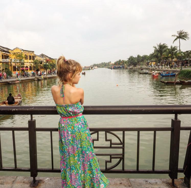 Emmie in Hoi An, Vietnam