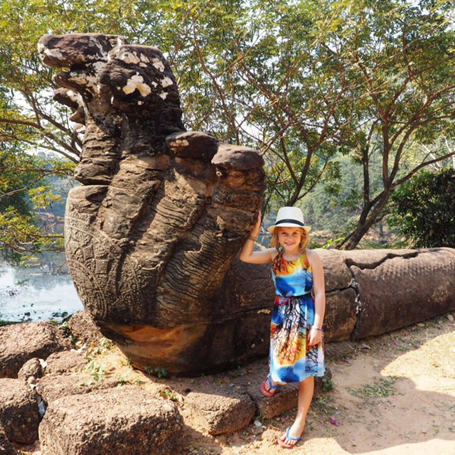 We are obsessed with Nagas and loved our Angkor and beyond tour