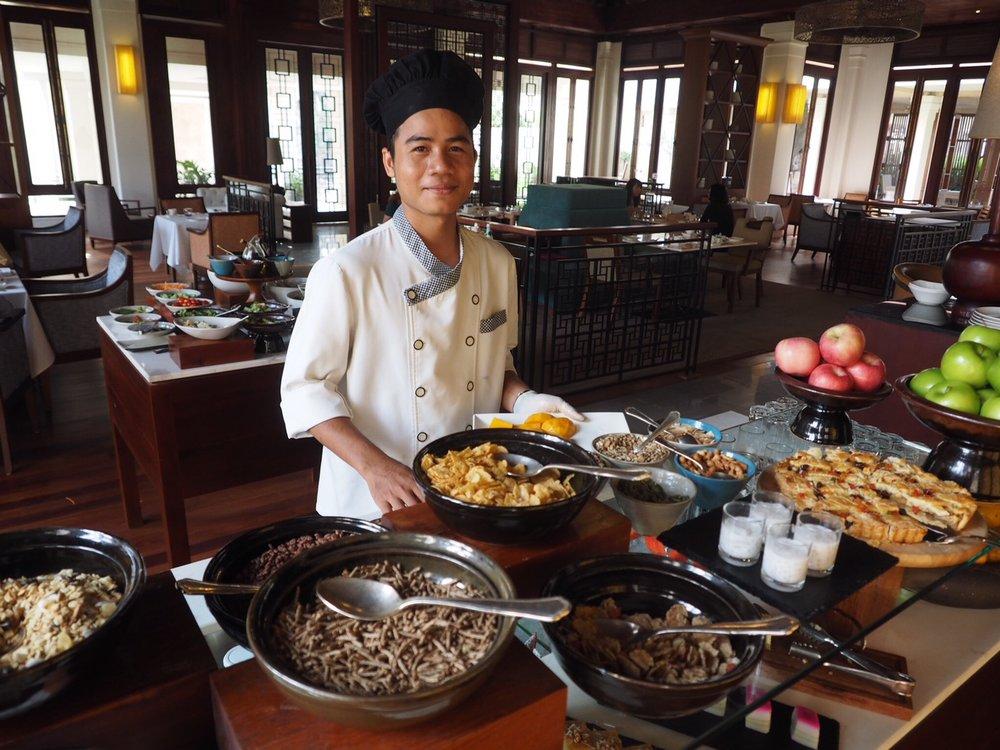 dining at Anantara Angkor