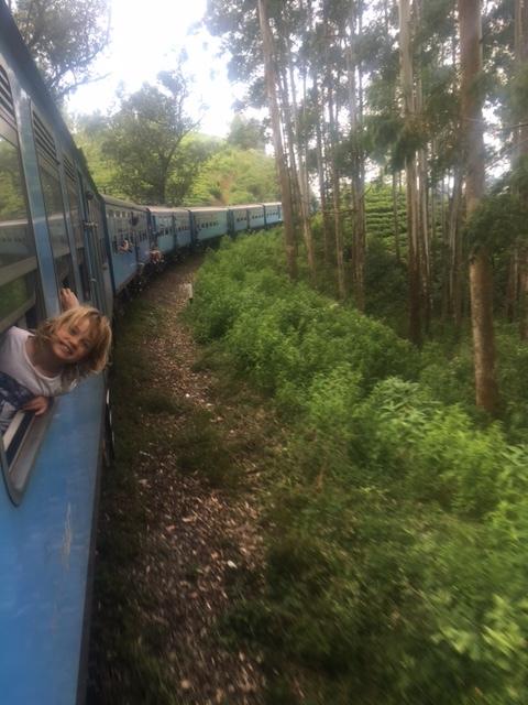 trains with kids in sri lanka