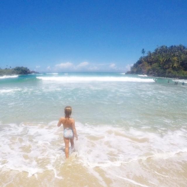 Beautiful Hiriketiya Beach