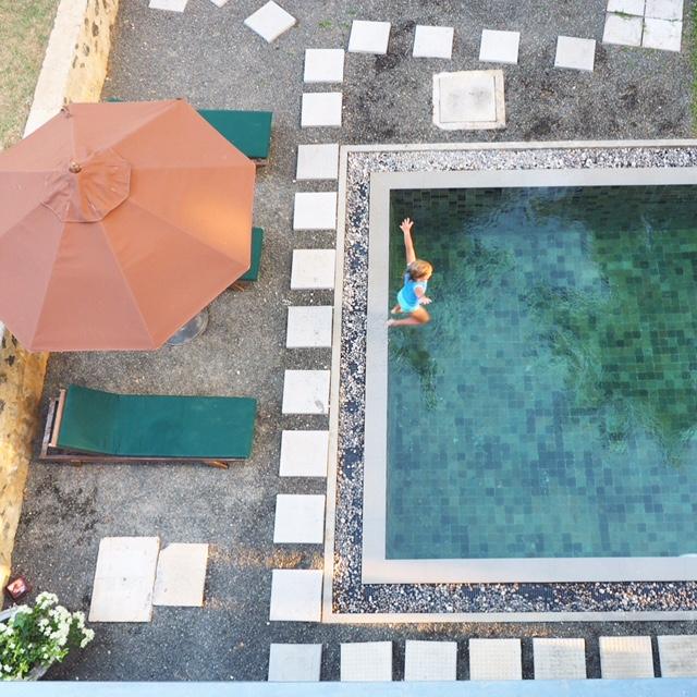 The amazing Jasper House swimming pool