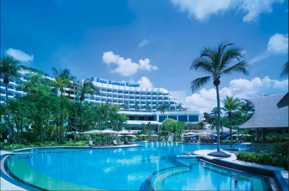 The beautiful Shangri-La Rasa Sentosa: pic courtesy of the Shangri-La