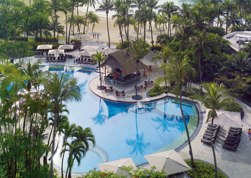 The gorgeous pool. Pic: Shangri-La