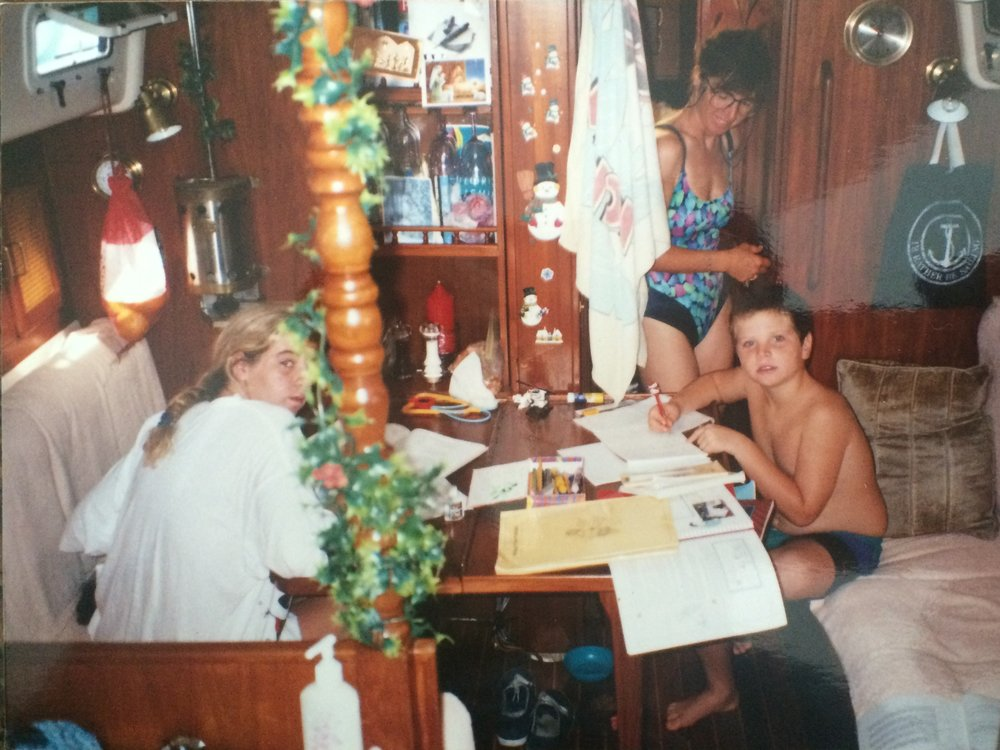 Boat schooling in the 90s