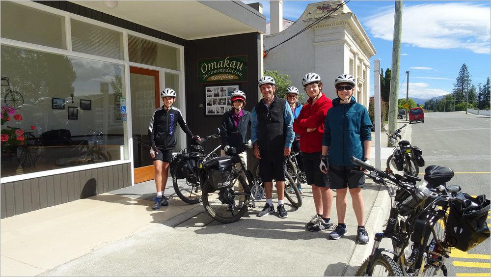 cycling Otago Rail Trail for families