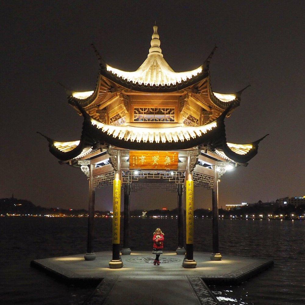 Hangzhou China with kids