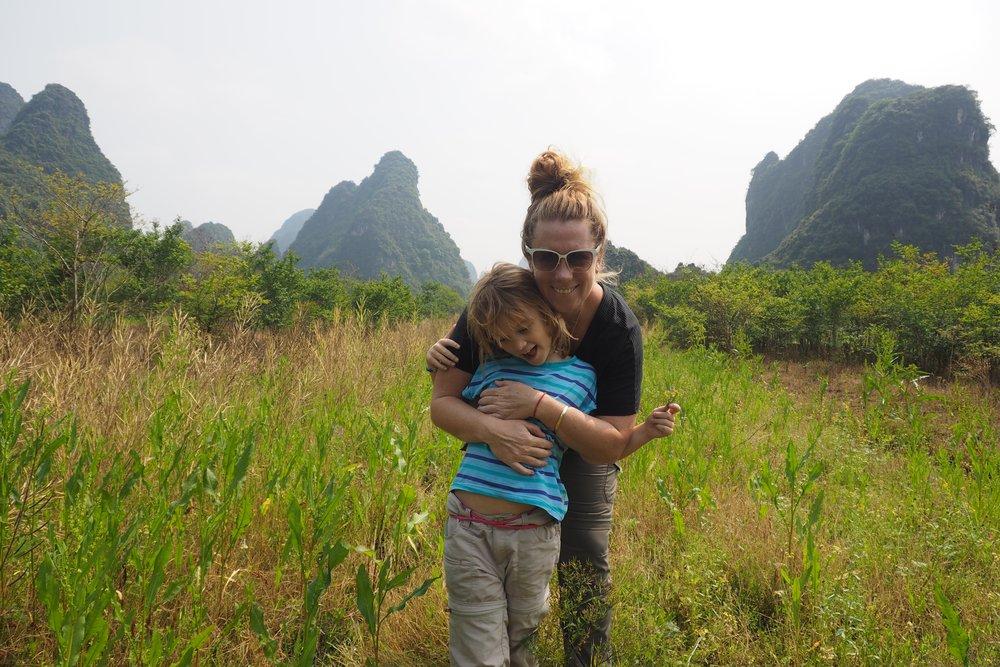 Beautiful Yangshuo is perfect for kids