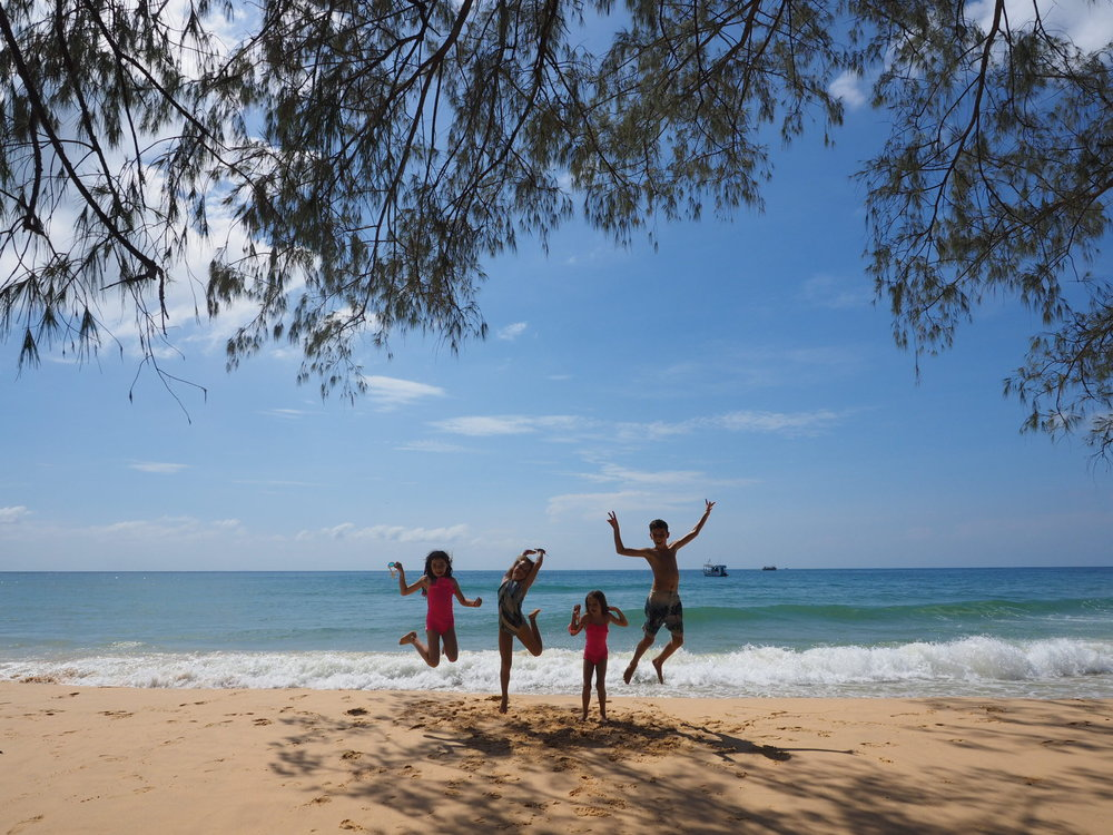 The best beach in Cambodia for kids