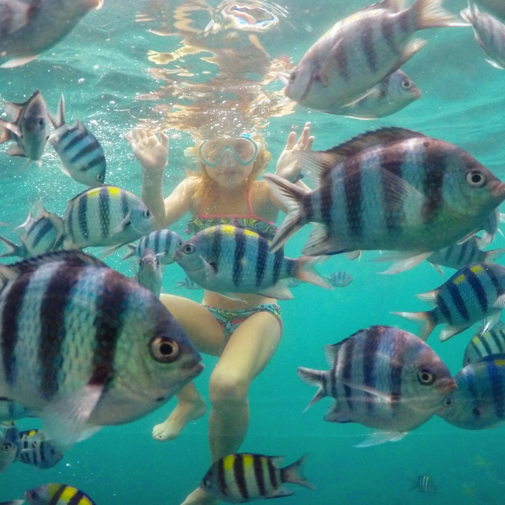 Coron is fabulous for families and kids will love the snorkelling tours