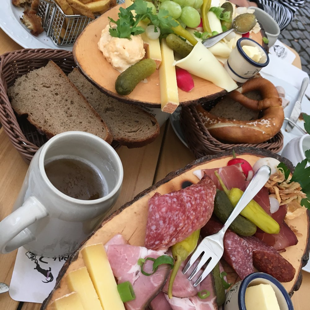 German breakfasts lunches and basically all food is the best!
