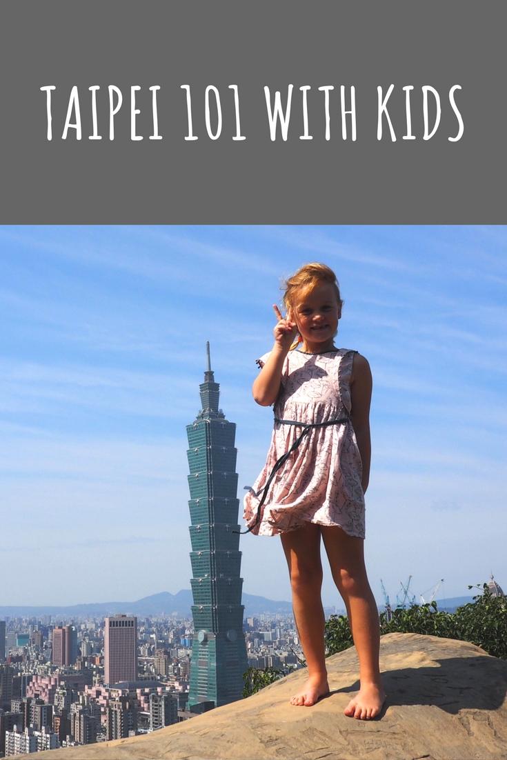 Taipei 101 with kids