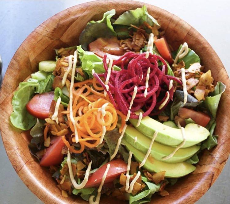 Ai Love Nalo Coco-Bacon Super Salad - dank vegan food!