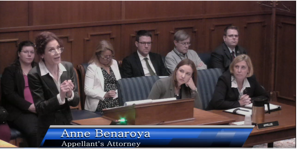 Click this thumbnail to view CWE Attorney Anne Benaroya's full oral argument